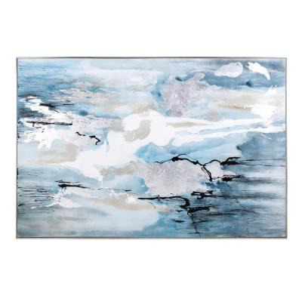 Meridian Framed Oil Painting Wall Art