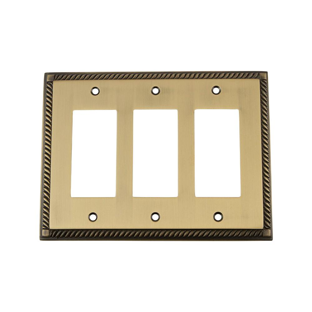 4 - Brass - Switch Plates - Wall Plates - The Home Depot
