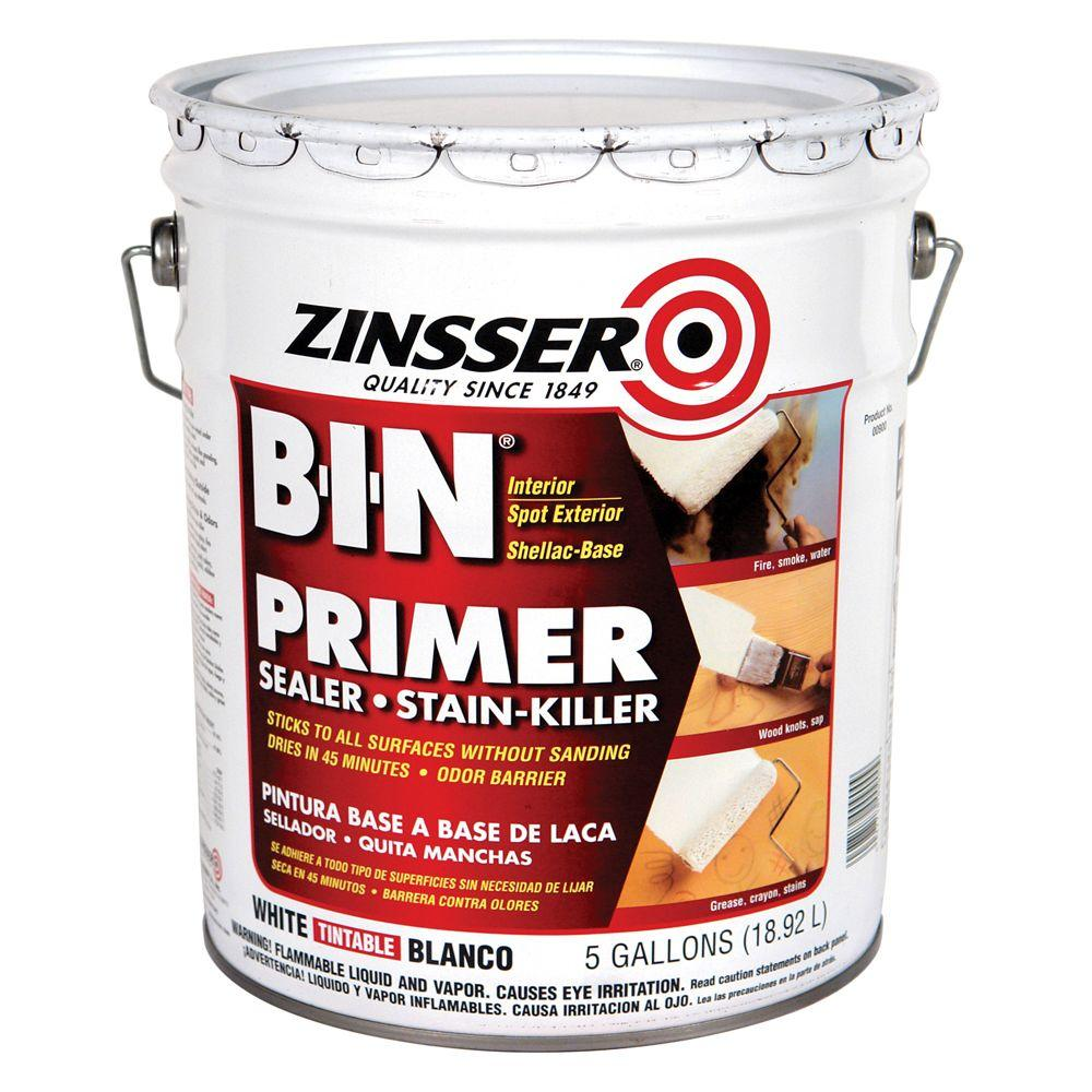 Zinsser B-I-N 5-gal. Primer Sealer-DISCONTINUED