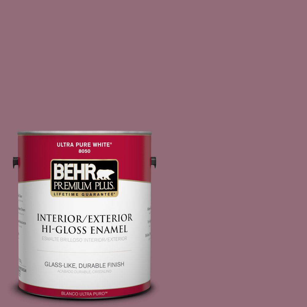 1-gal. #S120-6 Full Glass Hi-Gloss Enamel Interior/Exterior Paint