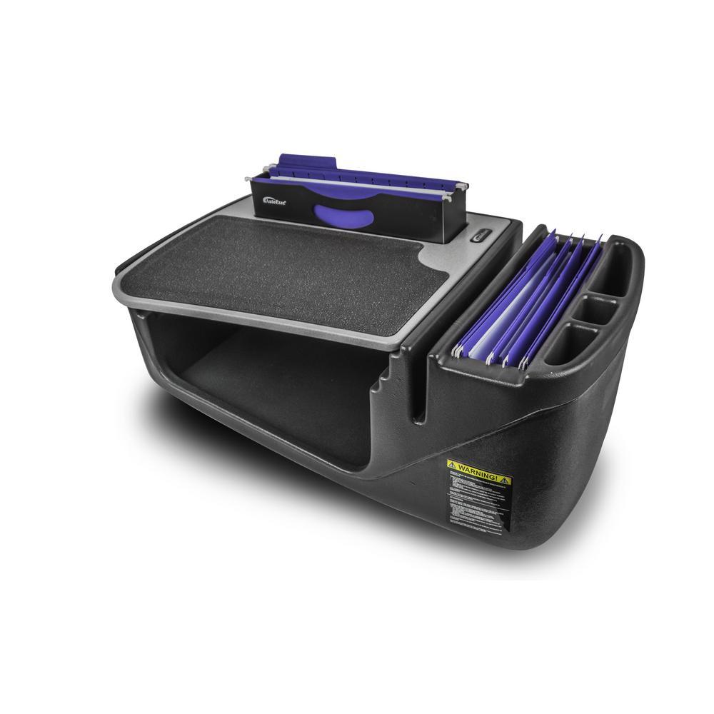 Efficiency Filemaster Car Desk with Built-In Power Inverter