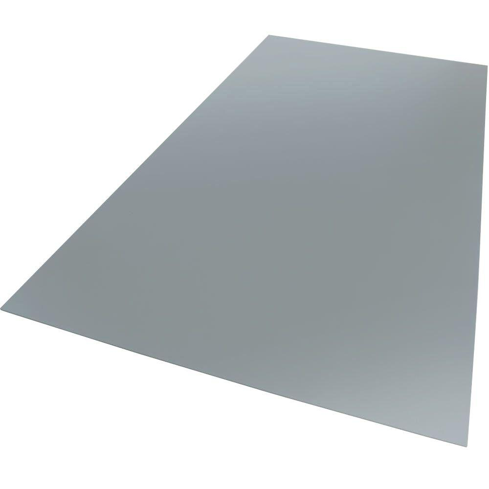 12 in. x 12 in. x 0.118 in. Foam PVC Grey