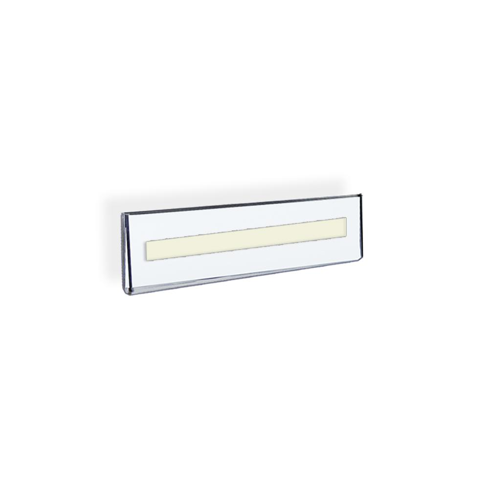 azar displays 85 in x 25 in acrylic clear wall u fram - Rack Card Holders