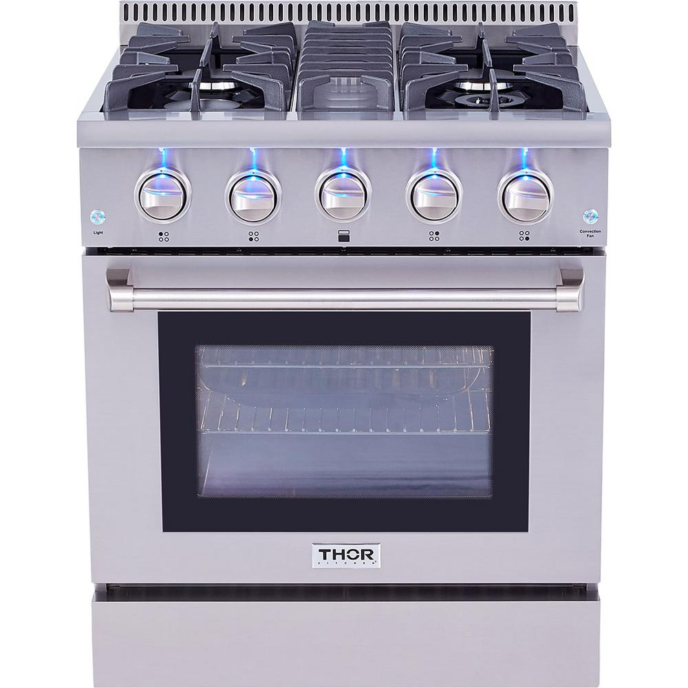 Thor Kitchen 4.2 cu. ft. Professional Gas Range in Stainless Steel