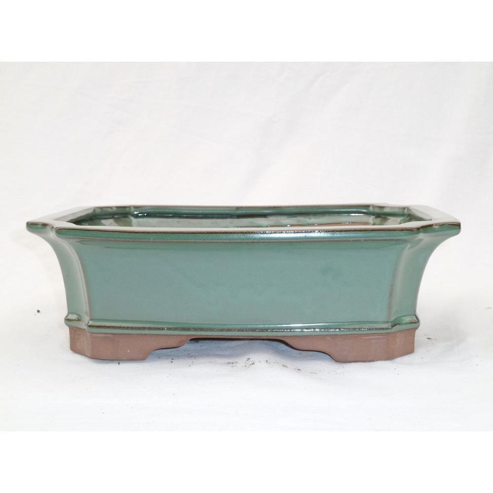 Olinda Bonsai 12 In Ceramic Bonsai Pot 12 The Home Depot