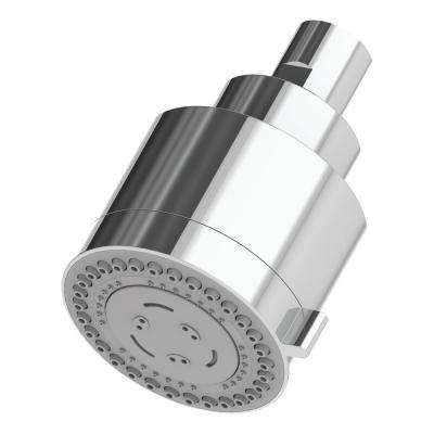 Dia 3-Spray 3 in. Fixed Round Showerhead in Polished Chrome
