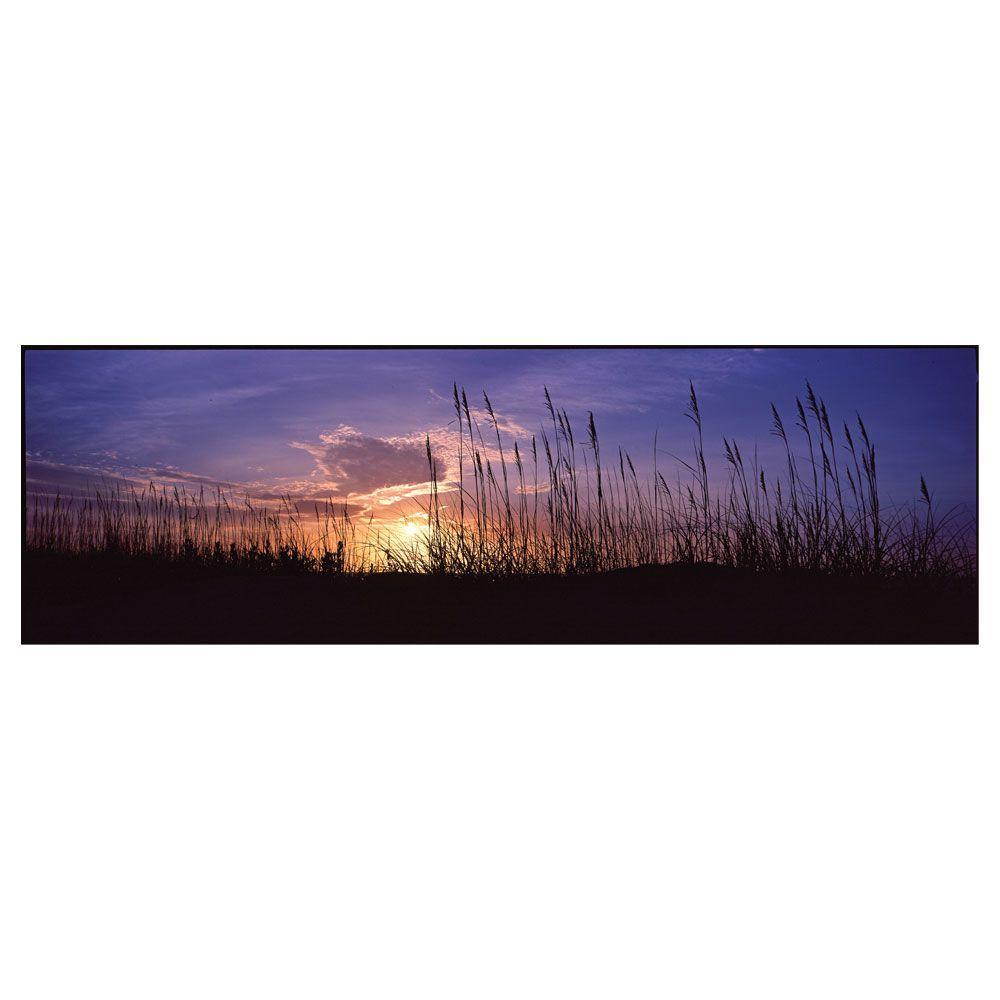 Trademark Fine Art 10 in. x 32 in. Sunset Canvas Art