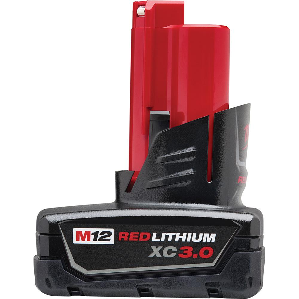 M12 12-Volt Lithium-Ion XC Extended Capacity Battery Pack 3.0Ah