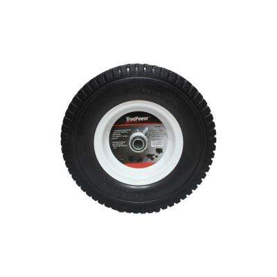 13 in. Flat Free Tire with Bearings and Spacers