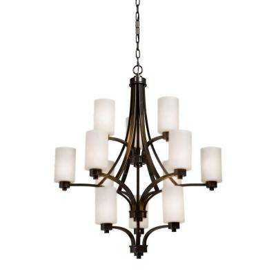 Parkdale 12-Light Oil-Rubbed Bronze Chandelier