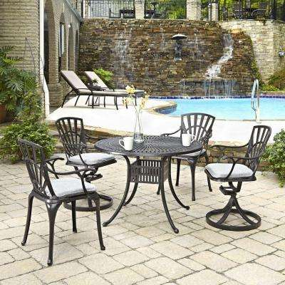 Largo 42 in. 5-Piece Patio Dining Set with Cushions