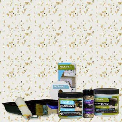1-pt. Bone All in One Multi Surface Countertop Makeover Kit