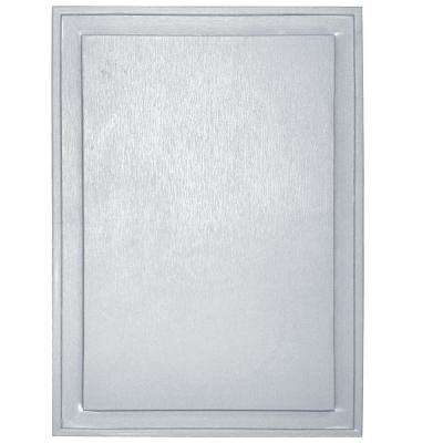 10 in. x 14 in. #001 White Super Jumbo Universal Mounting Block