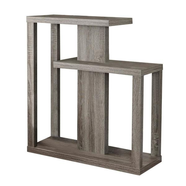 Jasmine 34 in. Dark Taupe Hall Console Accent Table
