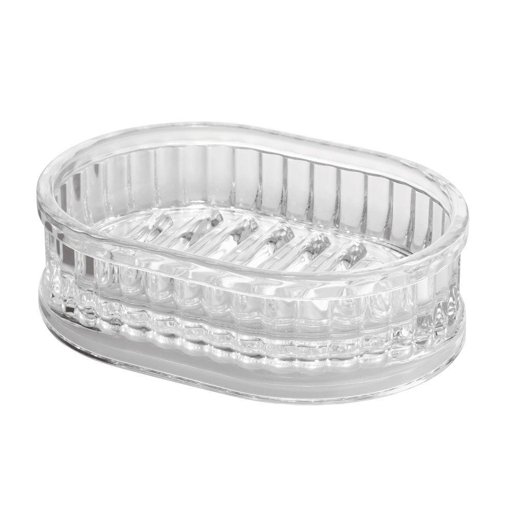 interDesign Alston Soap Dish Clear by interDesign