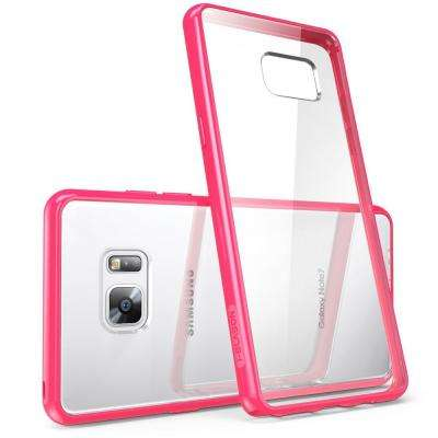 Galaxy Note 7-Halo Case, Clear/Pink