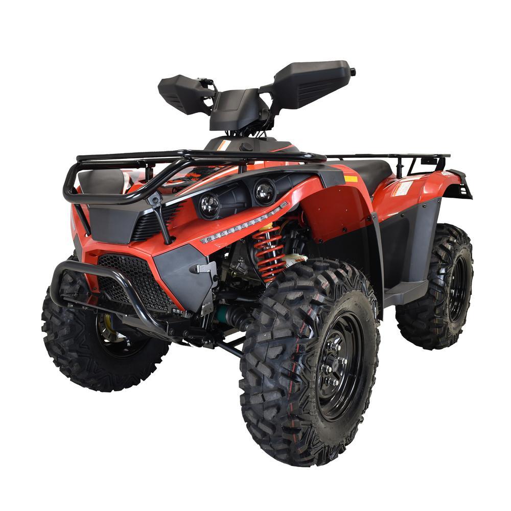 MSA 400 4WD 352 cc ATV in Red