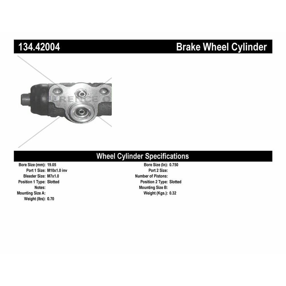 Centric Parts 134.61005 Drum Brake Wheel Cylinder