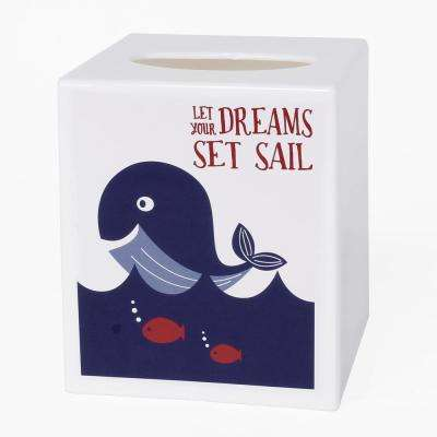 Set Sail Free Standing Tissue Holder in Multi-Color