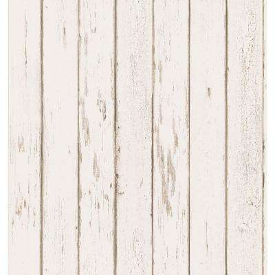 Weathered Plank Wallpaper