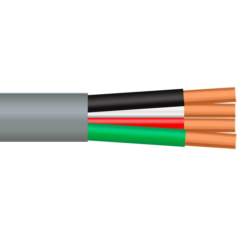 Southwire 25 ft. 10/3 Gray Solid CU UF-B W/G Cable-13059125 - The ...