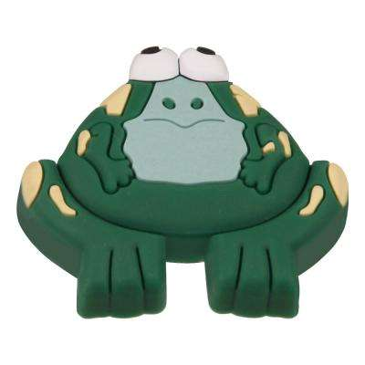 Kids Corner Frog 1-5/8 in. x 2 in. Multi-Colored Metal Cabinet Knob