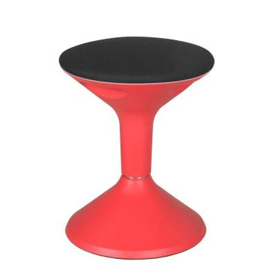 Grow Red Height Adjustable Wobble Stool