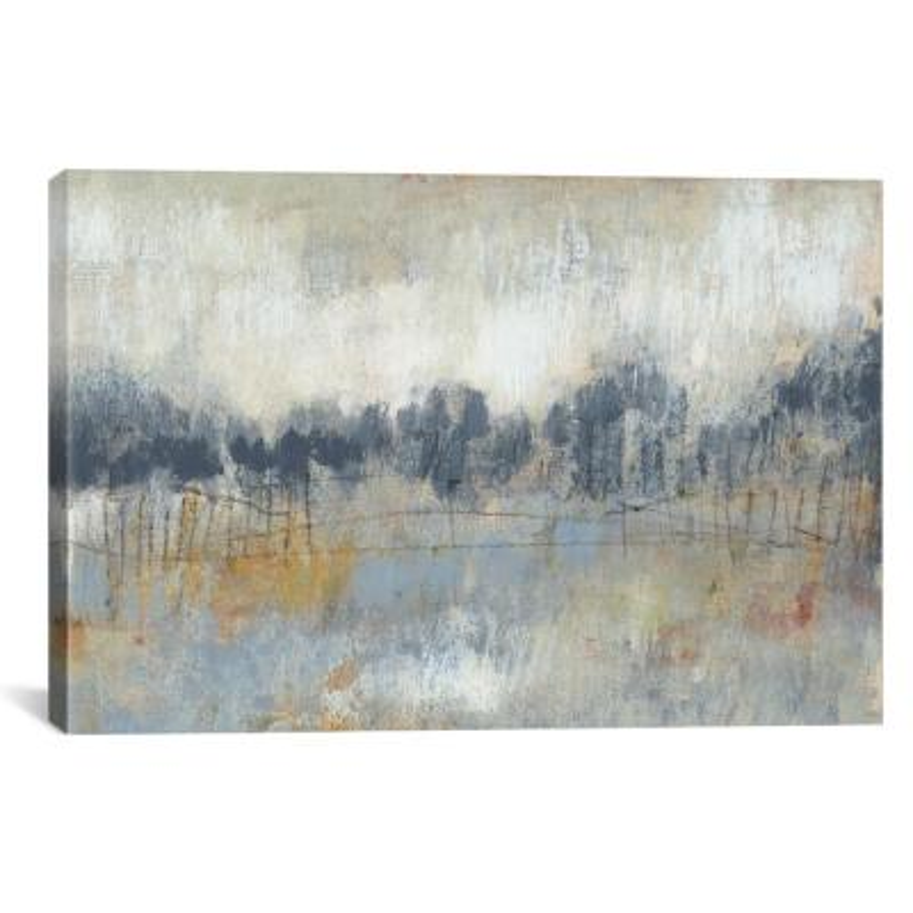 Cool Grey Horizon II by Jennifer Goldberger Wall Art