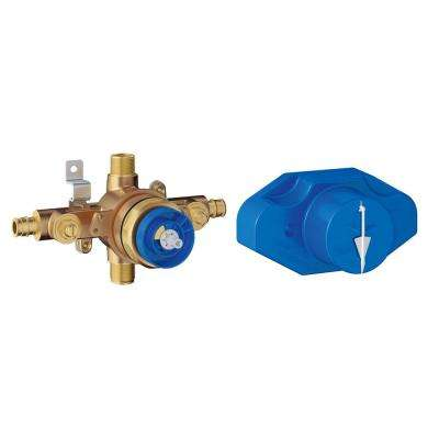 Grohsafe Universal Pressure Balance Rough-In valve in Copper