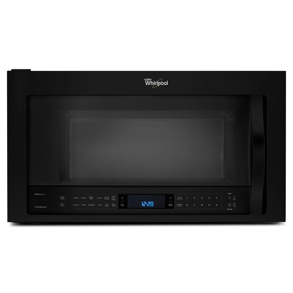 Whirlpool 1.9 cu. ft. Over the Range Convection Microwave in Black with Sensor Cooking