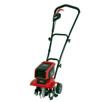 58 Volt 12 in. Cordless Electric Tiller/Cultivator with 3-Position Wheels