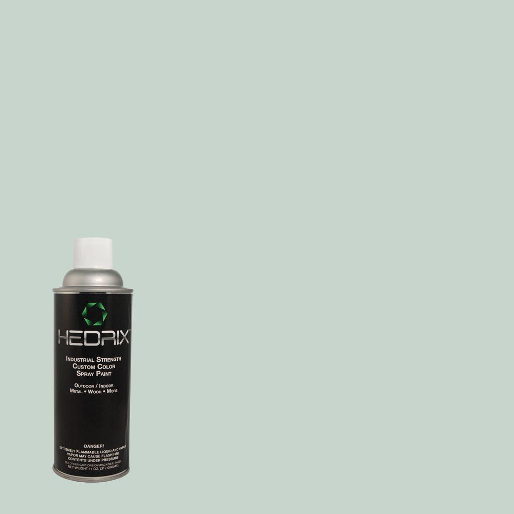 Hedrix 11 oz. Match of 460E-2 Valley Mist Semi-Gloss Custom Spray Paint (2-Pack)