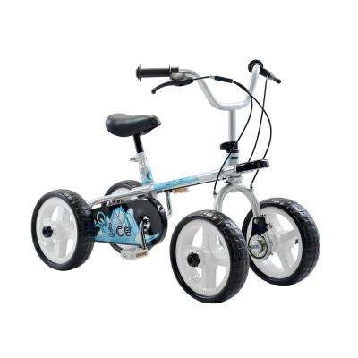 Ice Kid's Cycle, 10 in. Wheels, 2, 3 or 4-Wheel Design, Boy's Bike in Blue