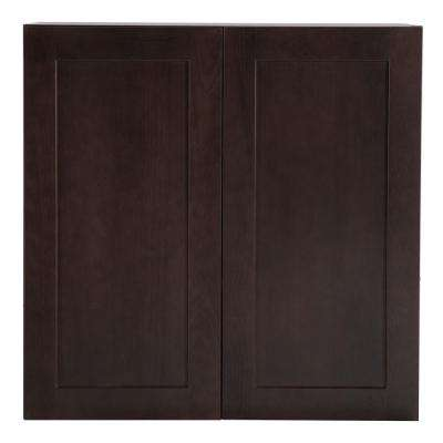 Cambridge Assembled 30x30x12.62 in. Wall Cabinet in Dusk