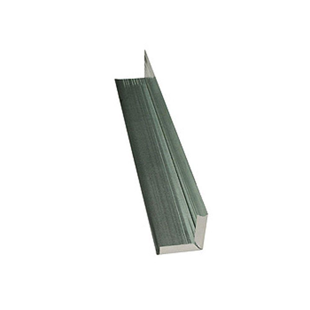 WeatherSide 12 in. Individual Aluminum Corner (Piece)
