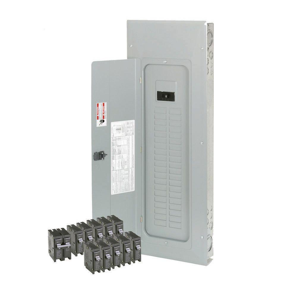 200 Amp 40-Space/Circuit BR Type Main Breaker Load Center Value Pack