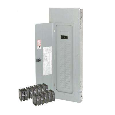 200 Amp 40-Space/Circuit BR Type Main Breaker Load Center Value Pack Includes 11 Breaker