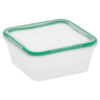 Total Solutions 5.35-Cup Plastic Square Storage Container