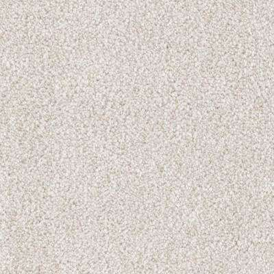Carpet Sample - Tides Edge - Color Biscuit Textured 8 in. x 8 in.