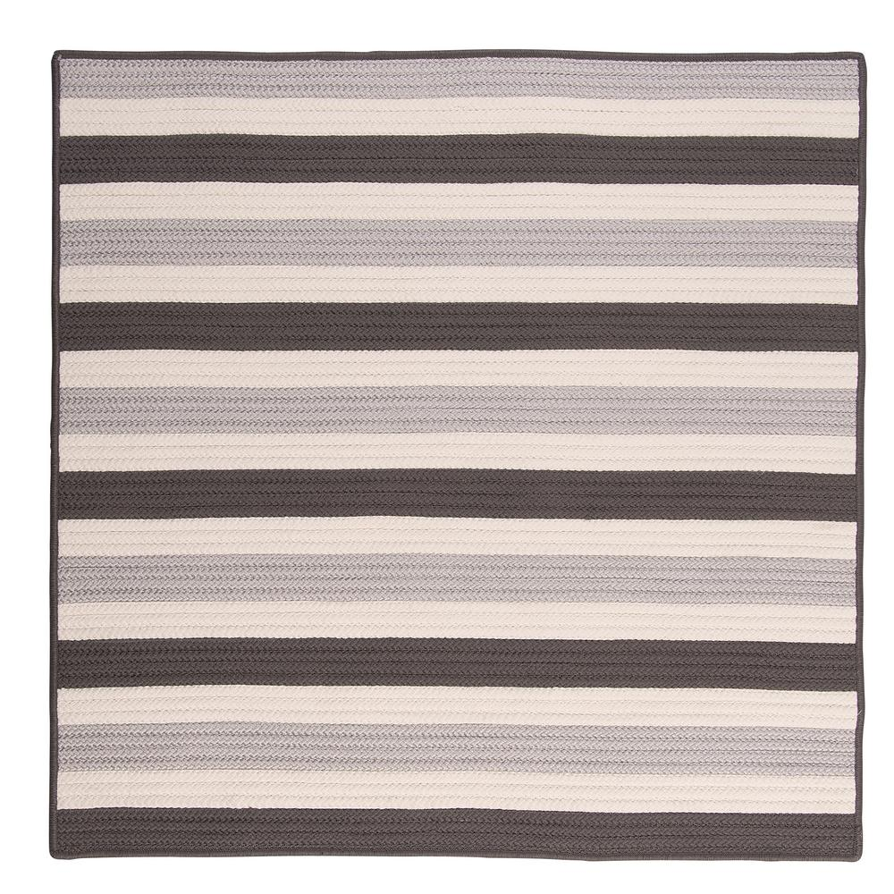 Home Decorators Indoor Outdoor Rugs: Home Decorators Collection Baxter Silver 4 Ft. X 4 Ft