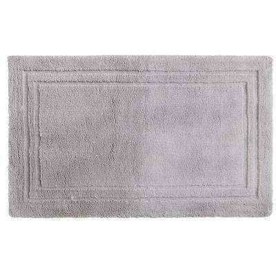 Imperial 30 in. x 50 in. Cotton Bath Mat in Gray