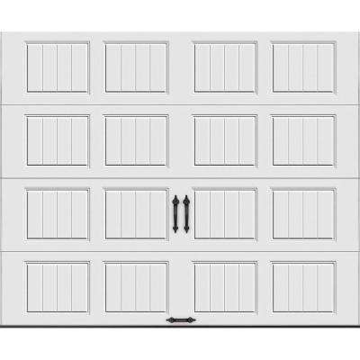 Gallery Collection Insulated Short Panel Garage Door