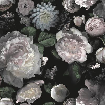 Moody Floral Peel and Stick Wallpaper 60 sq. ft.
