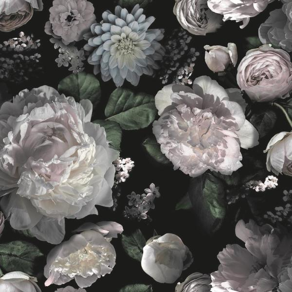 Tempaper Moody Floral Self Adhesive Removable Wallpaper