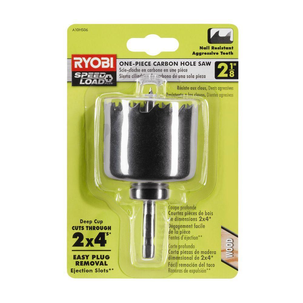RYOBI 2-1/8 in. Carbon Hole Saw