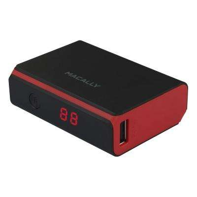 5200 mAh Portable Battery Charger Designed for Smartphones and Tablets