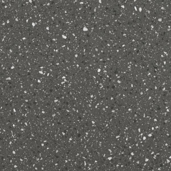 2 in. x 2 in. Solid Surface Countertop Sample in Midnight Frost