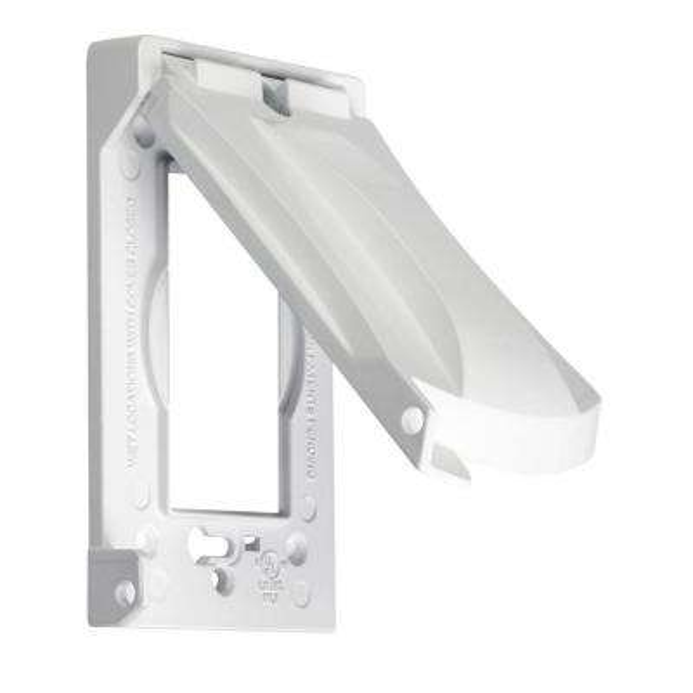 1-Gang Horizontal or Vertical Weatherproof Universal Device Flip Lid Covers