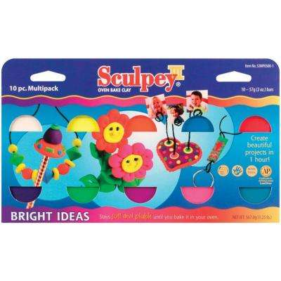 2 oz. Polymer Clay Bright Ideas Multipack (10-Pack)