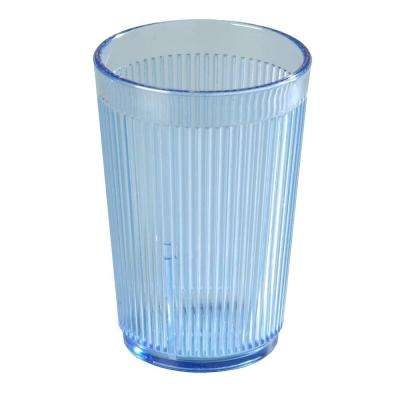 Carlisle 9.5 oz. SAN Plastic Tumbler in Blue (Case of 48) by Plastic Tumblers